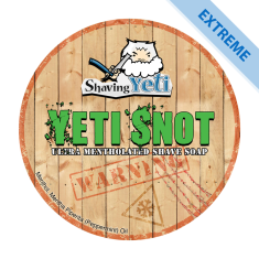 Yeti Snot Shave Soap